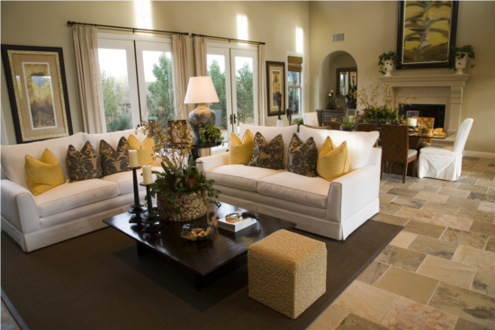 Staging Your Living/Family Room